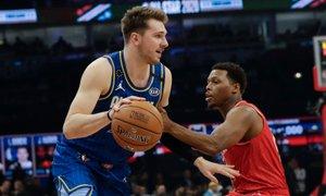 All-Star: Razburljiv obračun v Chicagu pripadel LeBronu in Dončiću