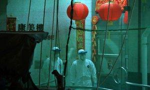 Kitajska bo uničila ali razkužila kup denarja z območij s koronavirusom