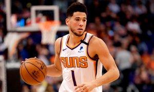 Booker ob zvoku sirene potopil LA Clippers, poraz Milwaukeeja