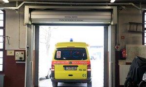 V Ljubljani trčili avtobus in tri osebna vozila