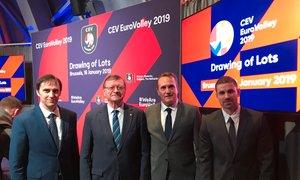 Rusi, Finci, Turki, Makedonci in Belorusi nasprotniki Slovenije v Stožicah