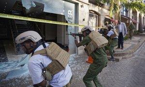 Napad na hotel v Nairobiju: 21 mrtvih, še 19 ljudi pogrešajo