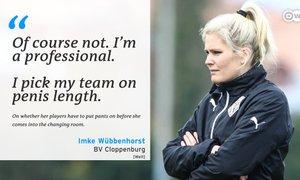 Ženska na klopi nemškega ligaša: Profesionalka sem, ekipo sestavljam glede na ...