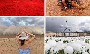 20 dni leta 2020 v Avstraliji: požari, poplave, oblaki prahu in toča