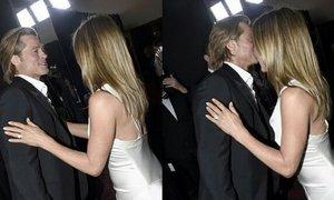 Na podelitvi nagrad pozornost pritegnila Brad Pitt in Jennifer Aniston