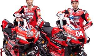 Dovizioso ob slavnostni predstavitvi Ducatija: Želimo se boriti za naslov