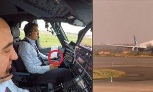 Nov mejnik v letalstvu: airbus A350-1000 poletel sam