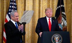 Trumpov načrt za Bližnji vzhod predvideva palestinsko državo