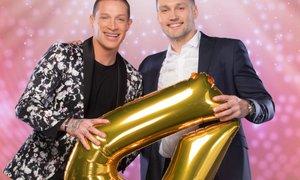 V šovu Zvezde plešejo bosta plesala tudi Denis Toplak in Luka Žvižej