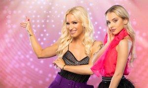 V šovu Zvezde plešejo tudi Alya in Kaja Vidmar