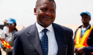 Najbogatejši Afričan: Ko zaključim vse projekte, bom kupil Arsenal