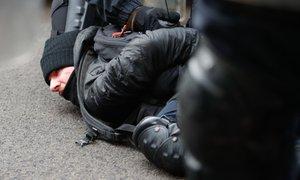 Policisti med uporom pri nekdanji tovarni Rog pridržali najmanj deset oseb