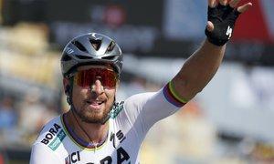 VIDEO: Sagan najmočnejši v tretji etapi, Polanc in Pogačar med deseterico