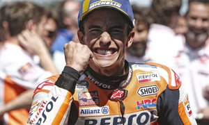 Marquezu skrili motocikel, zato se je glede treninga znašel po svoje