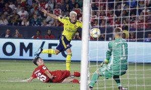 Nketiah zagotovil zmago Arsenalu v dvoboju z Bayernom