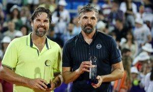 Ivanišević obudil spomin na Wimbledon, tokrat Rafterja premagal še v Umagu
