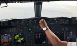 Objavili posnetek zadnje minute v kabini, pilota ignorirala kar 13 opozoril