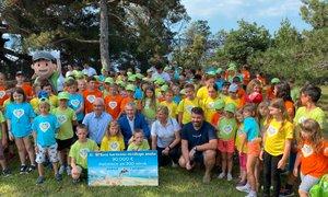 Morske radosti za 300 otrok iz socialno šibkih družin