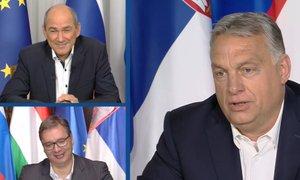 Orban o Janši: Janez je najpogumnejši protikomunistični borec v Evropi