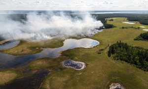 Zaskrbljujoče vroč junij v arktičnem delu Sibirije, kjer so padli rekordi