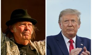 Neil Young bo tožil Trumpa zaradi uporabe njegovih pesmi med volilno kampanjo