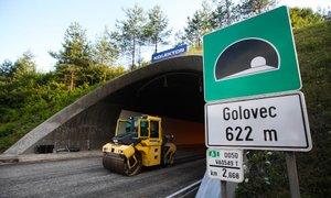 Obnova predora Golovec bo trajala še najdlje do 23. maja