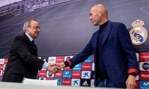 Brez presenečenja: Perezu šesti mandat na čelu madridskega Reala