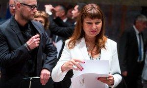 Violeta Tomić: Nedopustno je, da predsednik Evropske komisije izbira komisarje