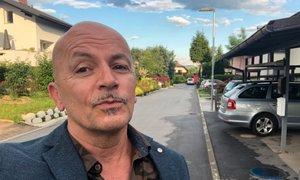 Dominik Kozarič prvič po 10 letih obiskal Slovenijo