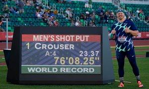 Američan Crouser zrušil 31 let star svetovni rekord