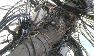 Župan Temišvara ukazal porezati vse kable v mestu
