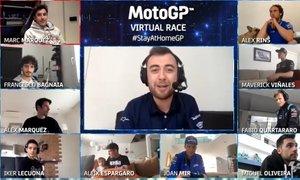 Druga virtualna dirka motoGP tokrat tudi z Valentinom Rossijem