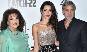 George Clooney s taščo, ki na začetku ni podpirala njegovega zakona z Amal
