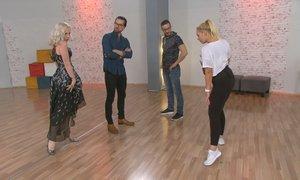 Nika Špeli pokazala plesni 'puma look', smejal se je tudi strogi Andrej