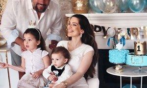 Iris Mulej sinu pričarala nepozaben 1. rojstni dan