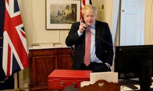 Kraljica dovolila Johnsonu, da telovadi na posestvu Buckinghamske palače