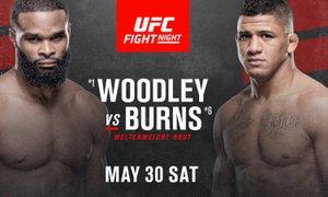UFC Fight Night: Brazilec Burns bo izzval nekdanjega prvaka Woodleyja