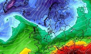 Na jugu Balkana že nad 35 stopinj, na severu Skandinavije pa še meter snega