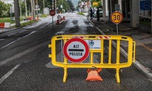 Italija z vojaki okrepila nadzor na italijansko-slovenski meji