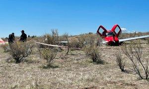 Nenavadna nesreča: v zraku trčili letali, kljub temu brez smrtnih žrtev