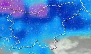 ANIMACIJA: Hladna fronta prinesla nove padavine