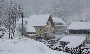 Alpske doline je ponoči pobelil sneg, kaj sledi?
