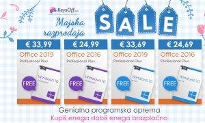 Najboljša majska razprodaja: Windows 10 dobite brezplačno
