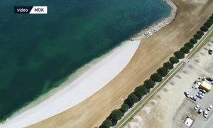 V Kopru nova, skoraj kilometer dolga plaža