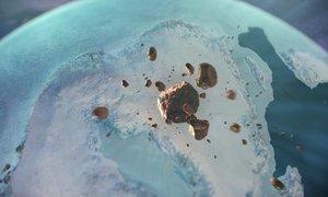 Na Grenlandiji odkrili krater večji od Pariza