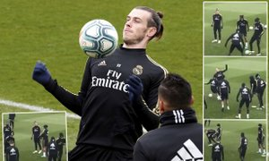Mariano na treningu Baleu pokazal golf palico, Zidane miri: Tema je ...
