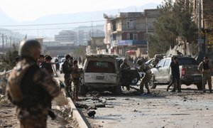V napadu z avtomobilom bombo v Kabulu več mrtvih, tudi otrok