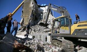 Za pomoč Albaniji po potresu zbrali 1,15 milijarde evrov