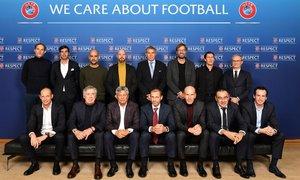 Uefa pozdravila srečanje najboljših trenerjev