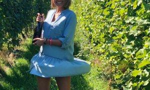 Nina Gerič uživa v trgatvi: Je priložnost, da se zberejo družina in prijatelji